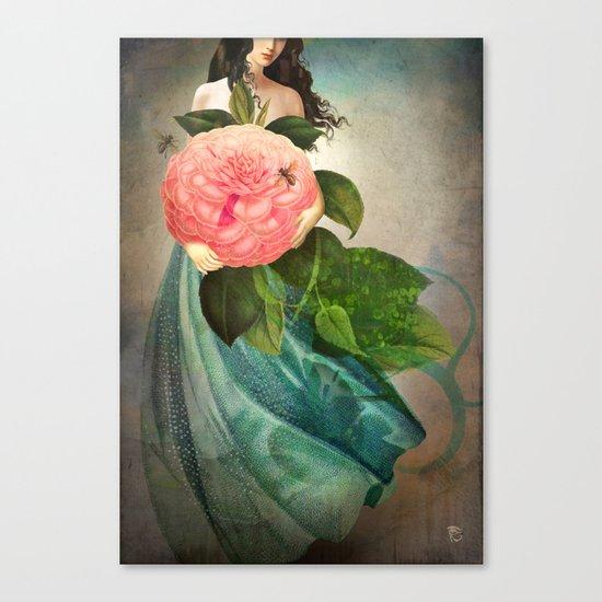 The Favorite Flower Canvas Print