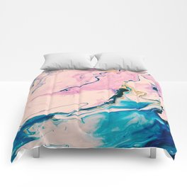 Ebb & Flow Marble Comforters
