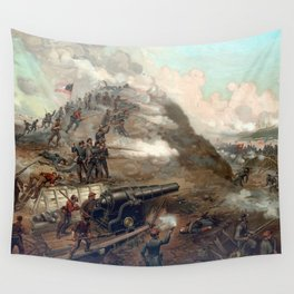 The Capture Of Fort Fisher Wall Tapestry