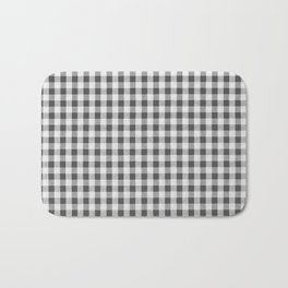 Remember Vichy (grey) Bath Mat