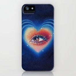 Heart eyes 4 U iPhone Case