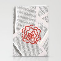 lolita Stationery Cards featuring Lolita by Lina Elyse Patton