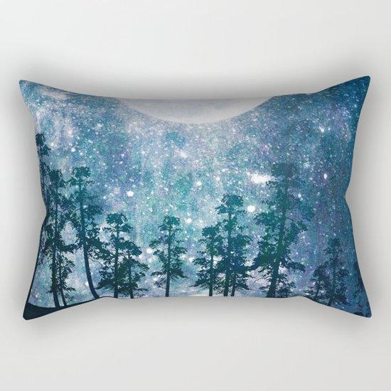 A Forest of Stars Rectangular Pillow