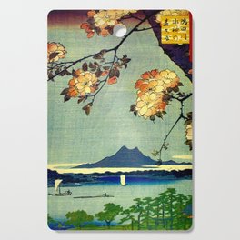 Hiroshige, Springtime In Japan, Thinking Of You Cutting Board
