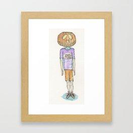 Happy Halloween (Color) Framed Art Print