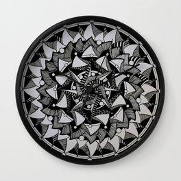 Mandala 004 Wall Clock