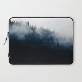 Foggy Mountain Forest (Color) Laptop Sleeve