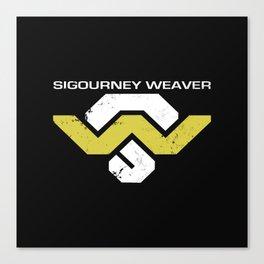 Sig Weav Canvas Print
