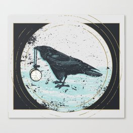 The Raven that Refused to Fly Canvas Print