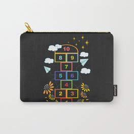 Hopscotch Carry-All Pouch