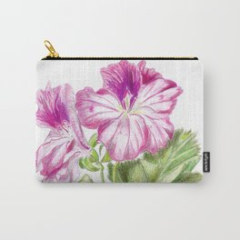 Royal geranium flower Carry-All Pouch