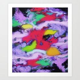 Unpreditale wave Art Print