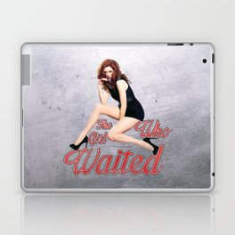 The Girl Who Waited. Laptop & iPad Skin