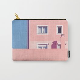 Sunny House And Blue Sky Carry-All Pouch