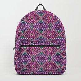 PURPLE KNIT PATTERN Backpack
