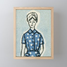 Fashion ´65 # 8 Framed Mini Art Print