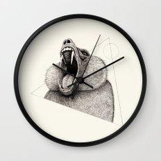 'Wildlife Analysis III' Wall Clock