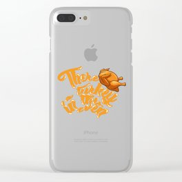 Thanksgiving // Pregnancy Clear iPhone Case
