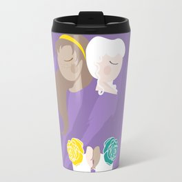 Teenage Endometriosis Awareness - Commissioned Work Travel Mug
