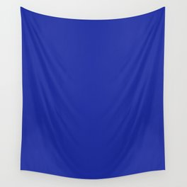 Walmart blue (1981–1992) - solid color Wall Tapestry