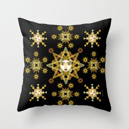 Stars collection by ©2018 Balbusso Twins Throw Pillow