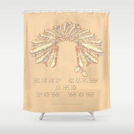 POW WOW - 043 Shower Curtain
