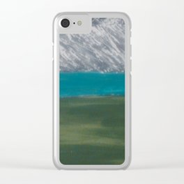 mountain 3 Clear iPhone Case