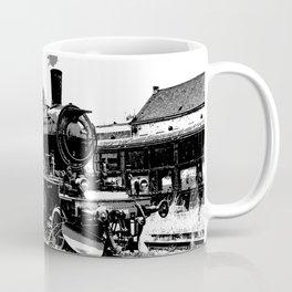 Riding the Rails - Vintage Steam Train Coffee Mug