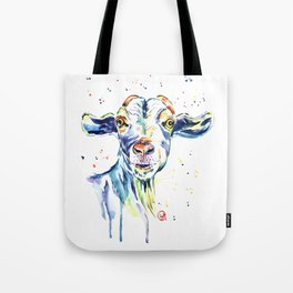 The Happy Goat Tote Bag