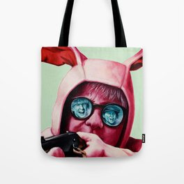 I'll shoot your eyes out Tote Bag