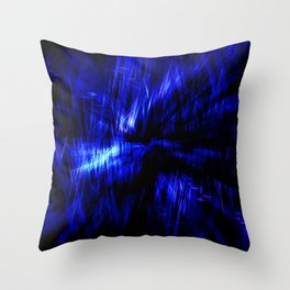 dark frequency Throw Pillow