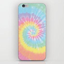 Pastel Tie Dye iPhone Skin