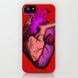 Valentine Anatomy Heart iPhone Case
