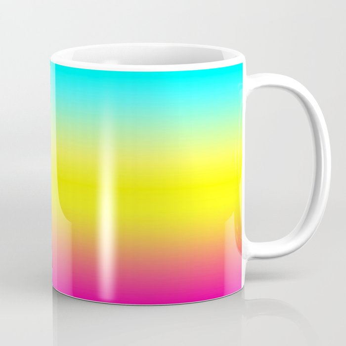 Ombre Magical Rainbow Unicorn Colors Coffee Mug