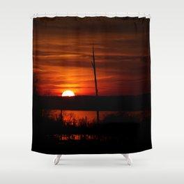 Sunset 3.0 Shower Curtain