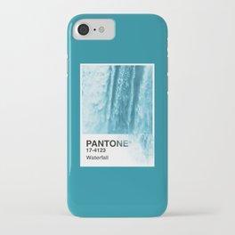 PANTONE SERIES – WATERFALL iPhone Case