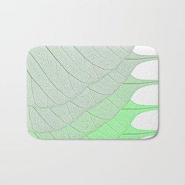 Leaves Green Bath Mat