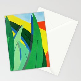 Plantain - Paint Stationery Cards
