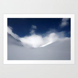 White Mountain Winter Art Print