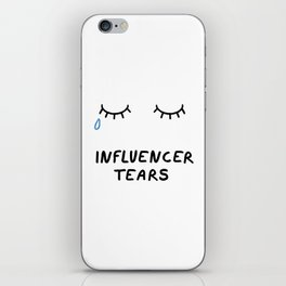 Influencer Tears iPhone Skin