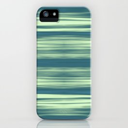 Abstraction Serenity in Afternoon at Sea iPhone Case