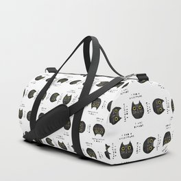 Blonde cat / poster, cat, art print, pictures, scandinavian, nursery, deco, family, art, animal, cat Duffle Bag