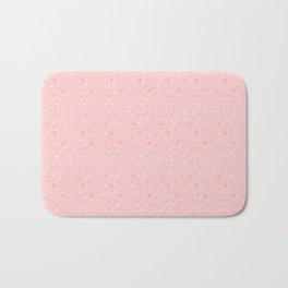 Pink stars Bath Mat