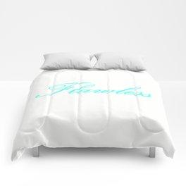 FlaWLESS Aqua Comforters