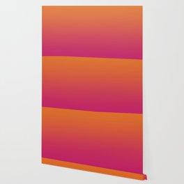 Pink Orange Red Gradient Pattern Wallpaper