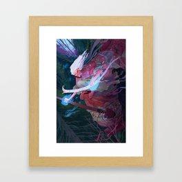 Baba Yaga Framed Art Print