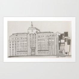 Museum Of Contemporary Art - Sydney Art Print