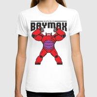 8bit T-shirts featuring BAYMAX (8BIT) by Akiwa