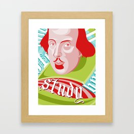 Shakespeare Says Study Framed Art Print