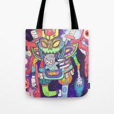 Kuri and the Kaiju Tote Bag